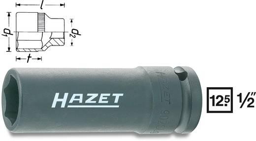 "Außen-Sechskant Kraft-Steckschlüsseleinsatz 17 mm 1/2"" (12.5 mm) Hazet 902SLG-17"