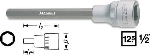 """Innen-Sechskant Steckschlüssel-Bit-Einsatz 6 mm 1/2"""" (12.5 mm) Hazet 986SLG-6"""