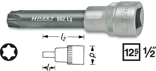 """Innen-TORX Steckschlüssel-Bit-Einsatz T 55 1/2"""" (12.5 mm) Hazet 992LG-T55"""