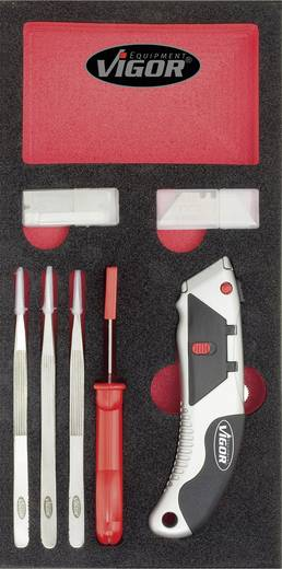 Vigor V1523 Heimwerker Werkzeugset 7teilig