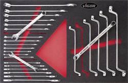 Sada stranových očkových klíčů Vigor V2375