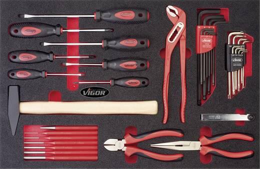 Vigor V2376 Heimwerker Werkzeugset 16teilig