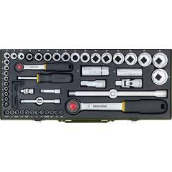 """Súprava nástrčných kľúčov Proxxon Industrial 23040, 1/4"""" (6,3 mm), 1/2"""" (12.5 mm), 56-dielna"""