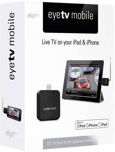 dvb t tv stick elgato eyetv mobile mit dvb t antenne aufnahmefunktion anzahl tuner 1. Black Bedroom Furniture Sets. Home Design Ideas
