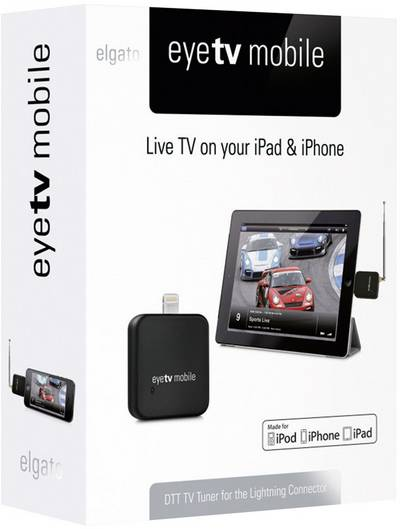 Elgato EyeTV Mobile DVB-T TV-Stick mit DVB-T Antenne, Aufnahmefunktion Anzahl Tuner: 1