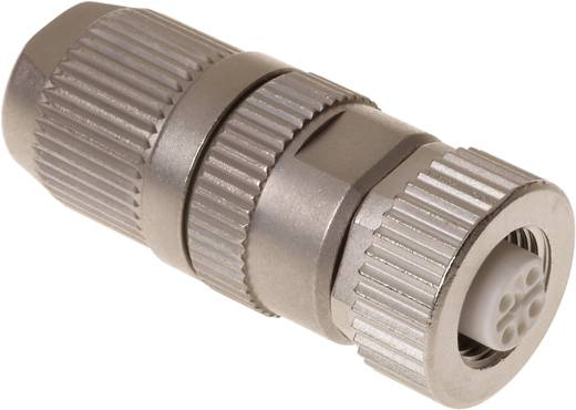 Sensor-/Aktor-Datensteckverbinder M12 Buchse, gerade Polzahl (RJ): 2 Harting 21 03 241 2301 21 03 241 2301 1 St.