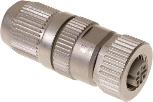 Sensor-/Aktor-Steckverbinder, unkonfektioniert M12 Buchse, gerade Polzahl (RJ): 4 Harting 21 03 281 2405 HARAX® M12-L 1