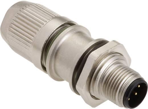 Sensor-/Aktor-Steckverbinder, unkonfektioniert M12 Stecker, gerade Polzahl (RJ): 4 Harting 21 03 321 1425 HARAX® M12-L