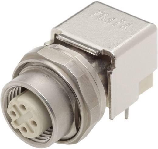 Sensor-/Aktor-Einbausteckverbinder M12 Printbuchse, Einbau Polzahl: 4 Harting 21 03 381 4410 Han® M12 1 St.