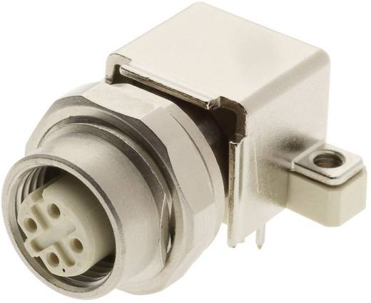 M12 Leiterplattenadapter, gewinkelt Pole: 4 Han® M12 Harting Inhalt: 1 St.