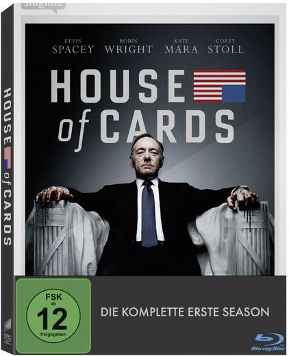 House of Cards - Die komplette erste Season (4 DVDs)