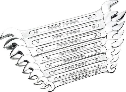 Doppel-Maulschlüssel-Satz 8teilig 6 - 22 mm DIN 3110 Brüder Mannesmann GABELSCHLUESSELSATZ 110-08 DIN