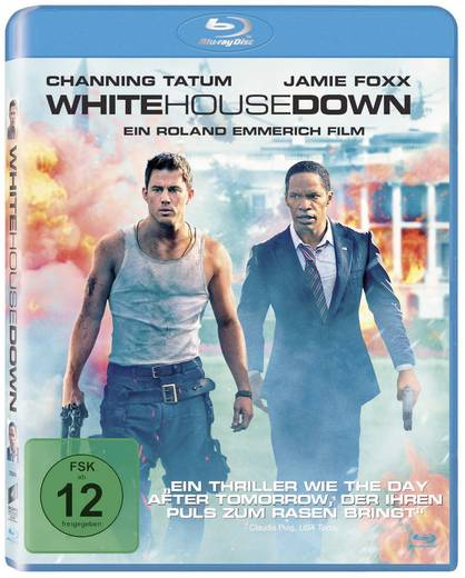 blu-ray White House Down FSK: 12