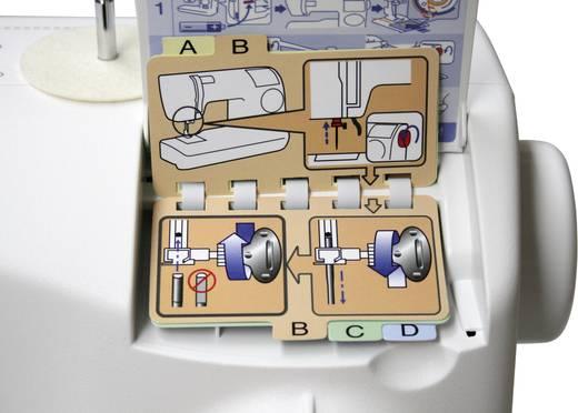 Freiarmnähmaschine Toyota Nähmaschinen ECO34A Weiß, Lila