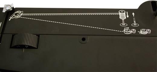 Jeans-Freiarmnähmaschine Toyota Nähmaschinen SUPERJ15 Lederfunktion Schwarz, Silber (matt)