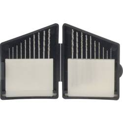 20dílná kazeta spirálových minivrtáku, DIN 338, 0,3 - 1,2 mm