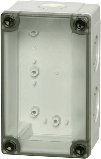Wand-Gehäuse, Installations-Gehäuse 130 x 80 x 100 Polycarbonat Licht-Grau (RAL 7035) Fibox PCM 100/100 T 1 St.