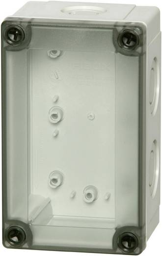 Wand-Gehäuse, Installations-Gehäuse 130 x 80 x 125 Polycarbonat Licht-Grau (RAL 7035) Fibox MNX PCM 100/125 T 1 St.