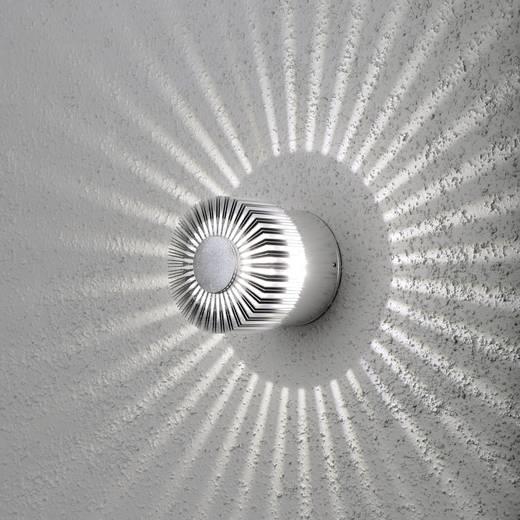 LED-Außenwandleuchte 3 W Warm-Weiß Konstsmide Monza 7900-310 Aluminium