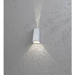 LED vonkajšie nástenné osvetlenie 6 W N/A Konstsmide 7911-310 striebornosivá