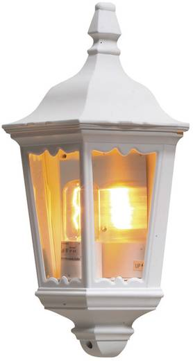 Außenwandleuchte Energiesparlampe, LED E27 100 W Konstsmide Firenze 7229-250 Weiß