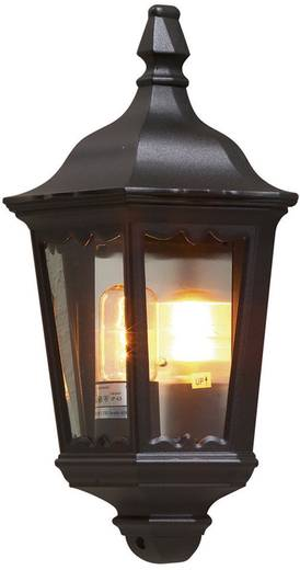 Außenwandleuchte Energiesparlampe, LED E27 100 W Konstsmide Firenze 7229-750 Schwarz