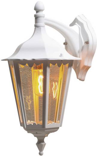 Außenwandleuchte Energiesparlampe, LED E27 100 W Konstsmide Firenze 7212-250 Weiß