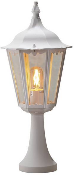 Image of Außenstandleuchte Energiesparlampe E27 100 W Konstsmide Firenze 7214-250 Weiß