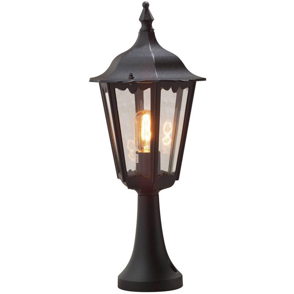 Lampadaire ext rieur konstsmide firenze 100 w noir 55 cm for Petit lampadaire exterieur