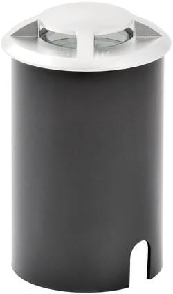 Spot LED extérieur encastrable LED intégrée Konstsmide 7902-310 blanc chaud 3 W aluminium