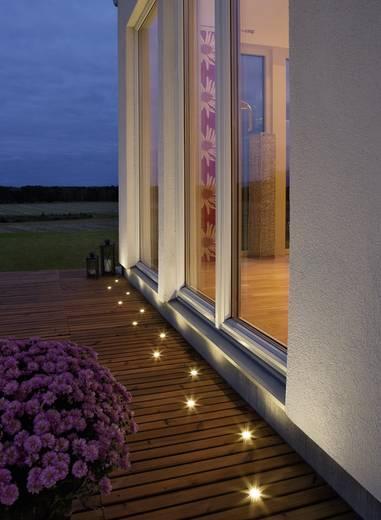 LED-Einbauleuchte 6er Set 6.12 W Warm-Weiß Konstsmide 7639-000 Edelstahl