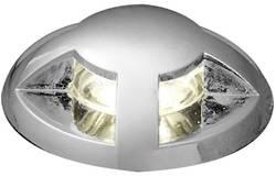Spot LED encastrable LED intégrée Konstsmide 7659-000 blanc chaud 2.16 W acier inoxydable set de 6