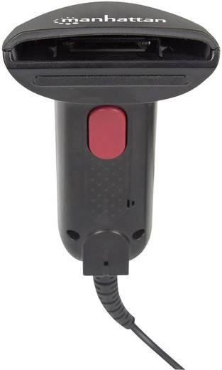 Manhattan 178488 USB-Kit Barcode-Scanner Kabelgebunden 1D CCD Schwarz Hand-Scanner USB
