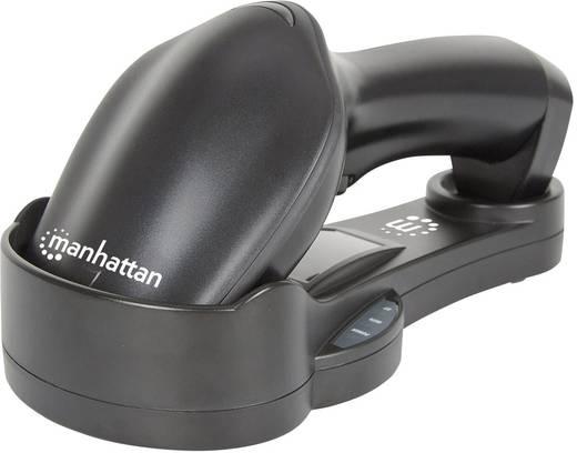 1D Wireless Barcode-Scanner Manhattan Barcodescanner BT CCD Schwarz Hand-Scanner Bluetooth®, USB
