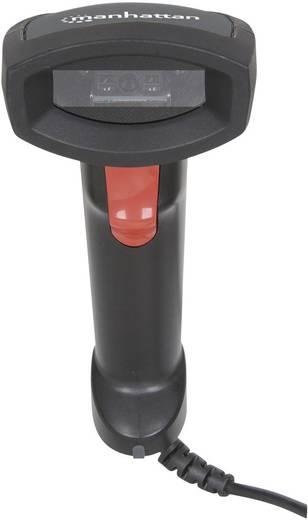 Manhattan 178433 USB-Kit Barcode-Scanner Kabelgebunden 1D CCD Schwarz Hand-Scanner USB