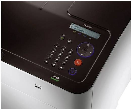 Samsung CLP-680ND Farblaserdrucker A4 24 S./min 24 S./min 600 x 600 dpi Duplex, LAN