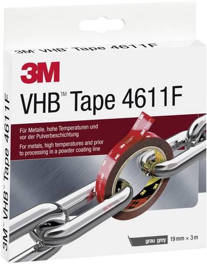 Doppelseitiges Klebeband VHB™ 4611F Grau (L x B) 3 m x 19 mm 3M 7000072168 1 Rolle(n)