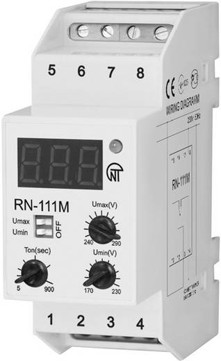 Spannungsüberwachungsrelais Novatek RN-111M Anzahl Relais-Ausgänge: 2