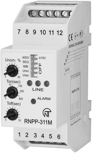 Spannungsüberwachungsrelais Novatek RNPP-311M Anzahl Relais-Ausgänge: 4