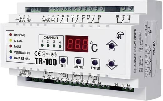 Temperaturrelais Novatek TR-100 Anzahl Relais-Ausgänge: 4