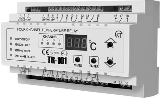 Temperaturrelais Novatek TR-101 Anzahl Relais-Ausgänge: 4