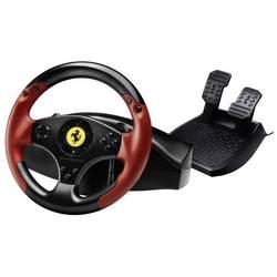 Volant Thrustmaster Ferrari® Red Legend Edition USB PlayStation 3, PC černá, červená vč. pedálů