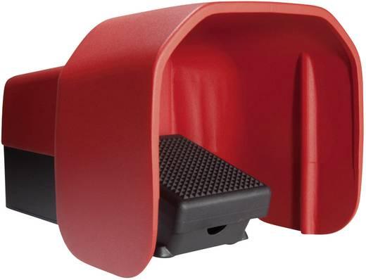 Fußschalter 500 V/AC 10 A 1 Pedal mit Schutzhaube 1 Schließer, 1 Öffner ASA Schalttechnik FS1 U1 U IP65 1 St.