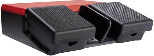 Fußschalter 500 V/AC 10 A 2 Pedale 1 Schließer, 1 Öffner ASA Schalttechnik FS2 SU1/SU1 IP65 1 St.