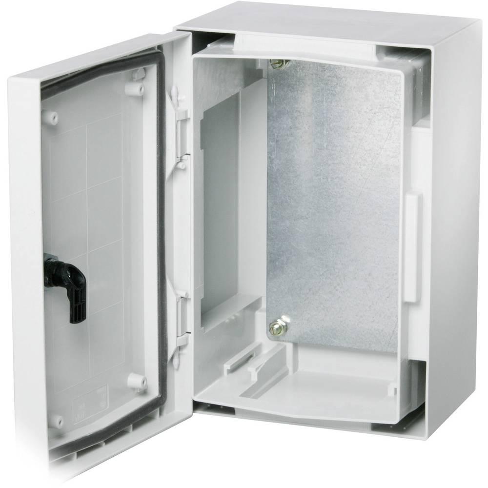plaque de montage fibox 8215040 l x l 500 mm x 400 mm. Black Bedroom Furniture Sets. Home Design Ideas