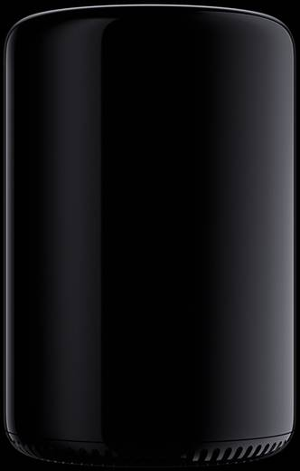 Apple Mac Pro (2013) Intel® Xeon 6 x 3.5 GHz 16 GB 256 GB AMD Fire Pro MacOS® X Yosemite
