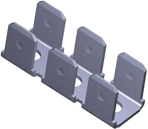 Steckzunge zum Einlöten in gedruckte Schaltungen Steckbreite: 6.3 mm Steckdicke: 0.8 mm 180 ° Unisoliert Metall TE Conne