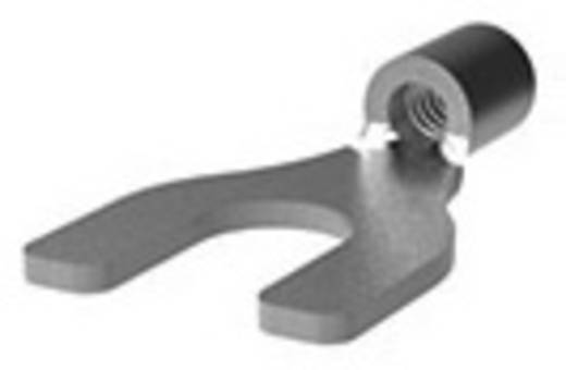 Gabelkabelschuh 0.205 mm² 1.50 mm² Loch-Ø=3.7 mm Unisoliert Metall TE Connectivity 36195 1 St.