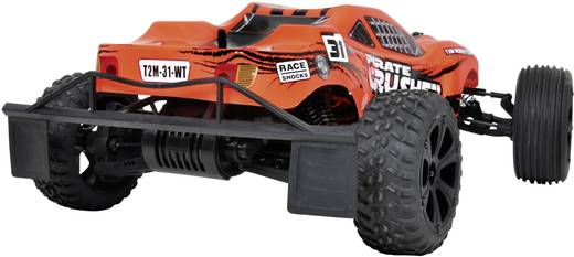 T2M Pirate Crusher Brushed 1:10 RC Modellauto Elektro Truggy Heckantrieb RtR 2,4 GHz