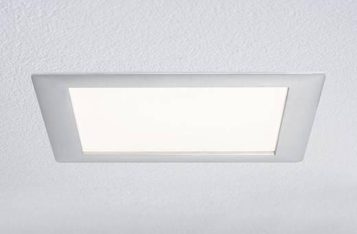 LED-Einbauleuchte 15 W Warm-Weiß Paulmann 92614 Aluminium (gebürstet)